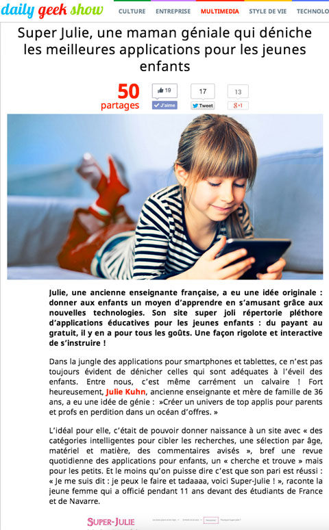 Daily-Geek-Show-site-application-enfant-super-julie