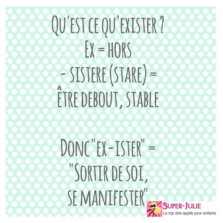 Exister ex-sistere