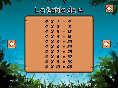 Les tables de multiplication pour ce1 ce2 super julie - Reviser les tables de multiplications ce2 ...
